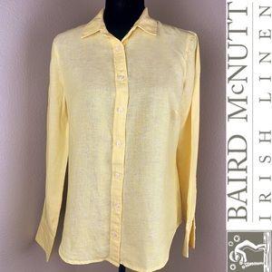 J. Crew Baird McNutt Irish Linen Collard Shirt